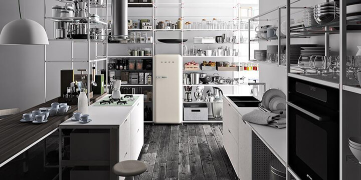Meccanica di Demode Engineered by Valcucine Cucine d\'Italia