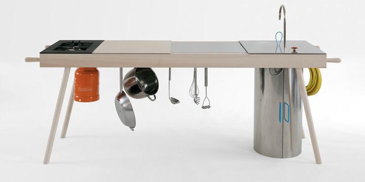 Anteprima Salone 2013, ecco Critter la cucina free-standing Cucine ...