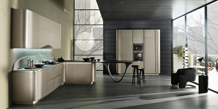 Snaidero porta la fibra di carbonio in cucina cucine d 39 italia - Cucina ola 20 snaidero ...