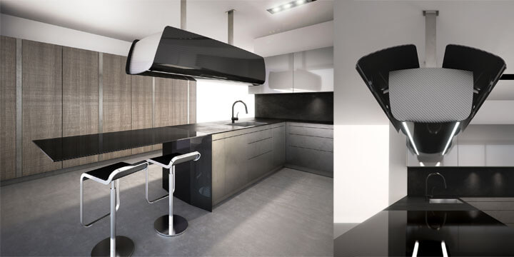 Cucine super-tecnologiche al Salone del Mobile 2014: Invisibile by ...