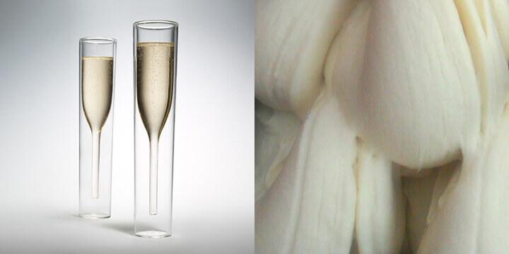 Gelato allo Champagne