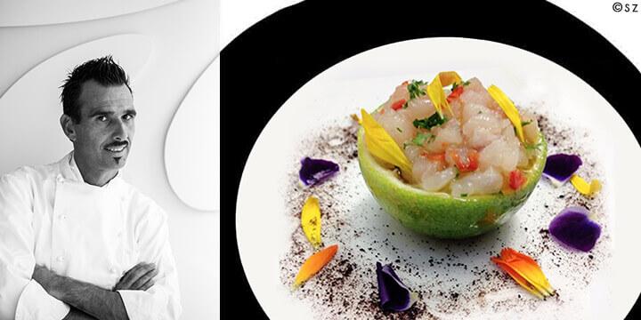 Ricerca, tradizione, creatività e design secondo Massimo Livan, Executive Chef del ristorante Antinoo's del Centurion Palace di Venezia.