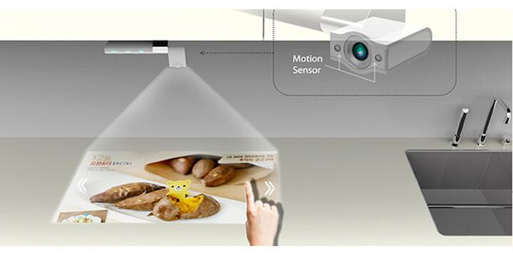 Prodotti tecnologici in cucina: Smart Kitchen Tv Cucine d\'Italia