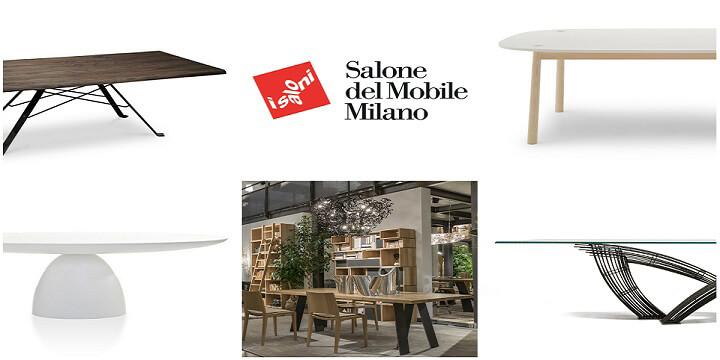 Salone del Mobile 2015, le ultime tendenze: i tavoli