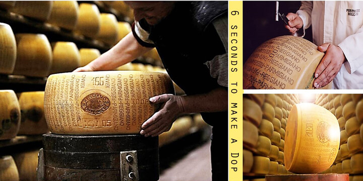 Parmigiano Reggiano: 6 seconds to make a Dop