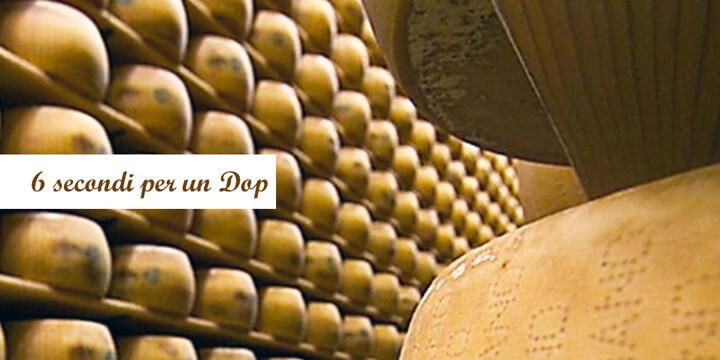 Parmigiano Reggiano: 6 secondi per un Dop