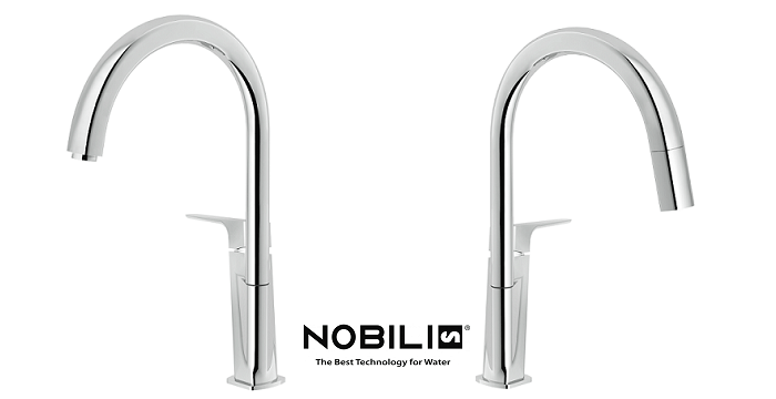 Acquaviva di Nobili Rubinetterie. Tecnologia e design in cucina ...