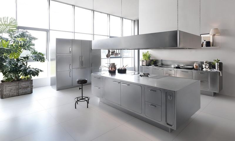La cucina sartoriale di abimis cucine d 39 italia - Cucine d acciaio ...