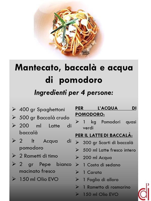 ingredienti spaghettoni Sagliocco