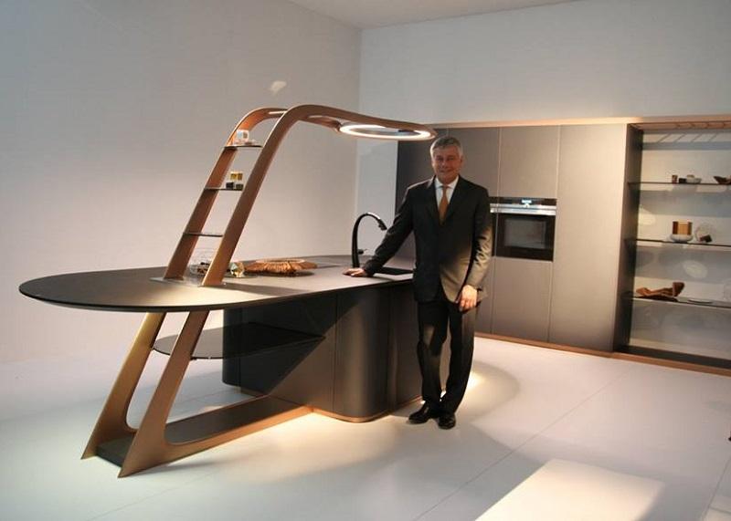 Snaidero\'s Aria Kitchen Designed by Pininfarina - Cucine d\'Italia