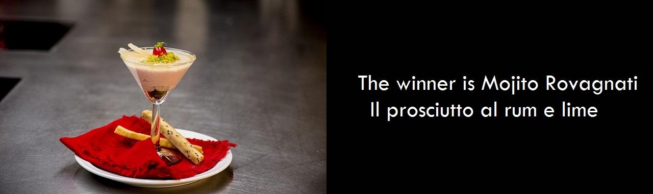 The winner is Mojito Rovagnati: il prosciutto al rum e lime
