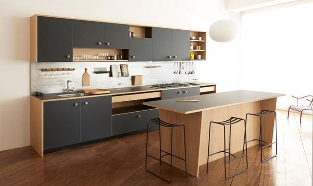 La cucina Lepic by Schiffini di Jasper Morrison