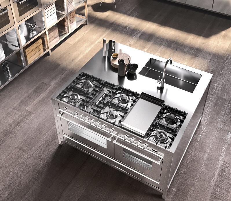 Cucine ilve la professionalit in casa cucine d 39 italia for Cucine professionali per casa
