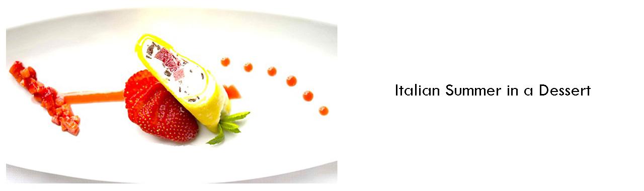 Italian Summer in a Dessert