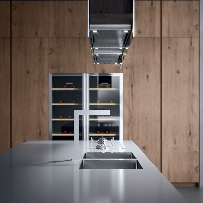 L 39 eleganza dell 39 acciaio la cucina ak04 by arrital - Cucine arrital prezzi ...