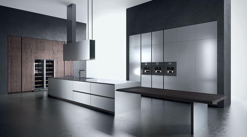 L\'eleganza dell\'acciaio: la cucina Ak04 by Arrital