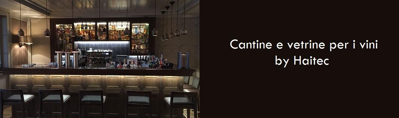 Cantine e vetrine per i vini by Haitec - Cucine d\'Italia