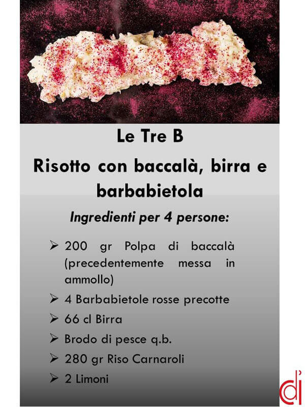 ingredienti risotto le tre b