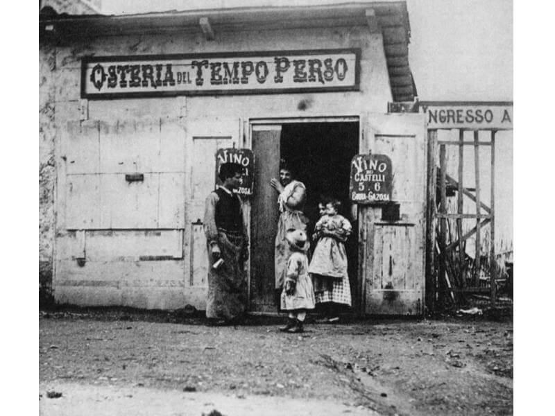 roma - Osteria del Tempo Perso (1892)