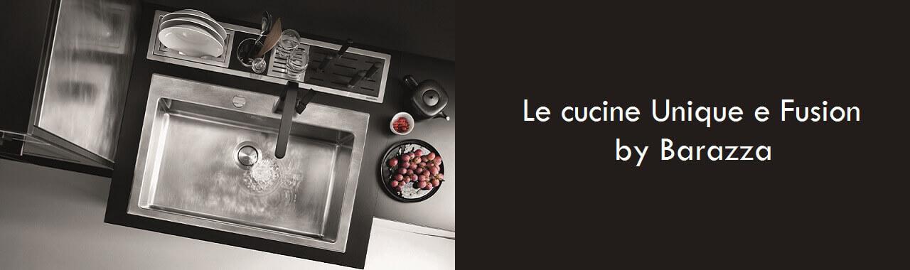 Le cucine Unique e Fusion by Barazza