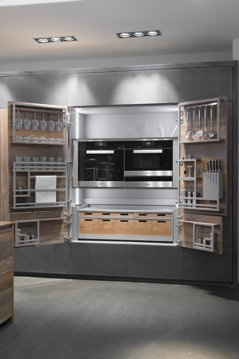 Il sistema Chef de Cuisine by Toncelli Cucine d\'Italia