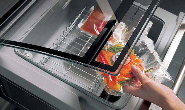 Chef Touch by Kitchen Aid: la cucina sottovuoto