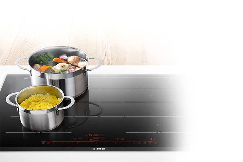 Bosch e i nuovi piani cottura a induzione cucine d 39 italia - Pentole per cucine a induzione ...