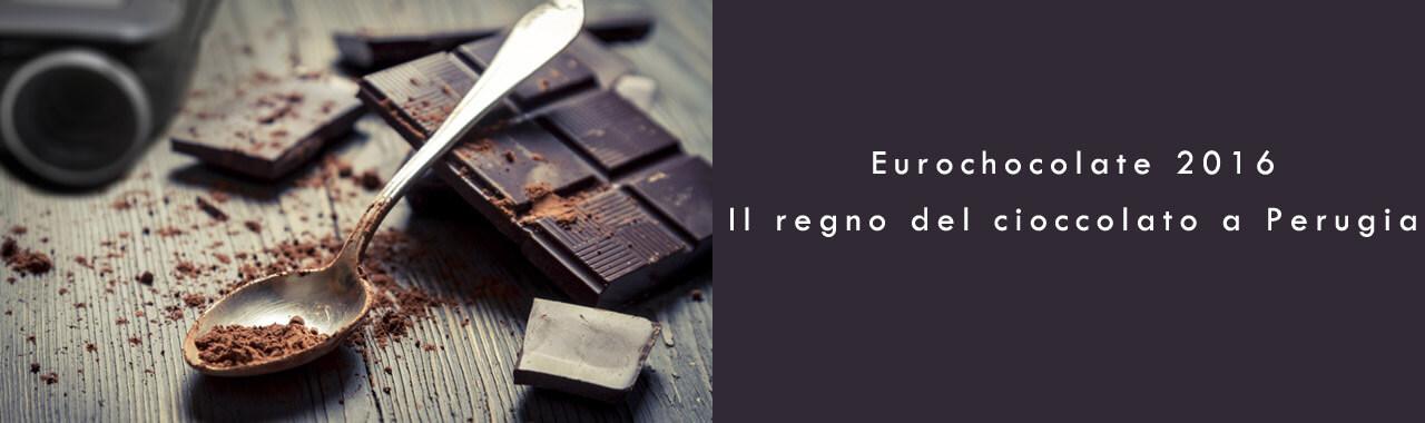 Eurochocolate 2016: il regno del cioccolato a Perugia