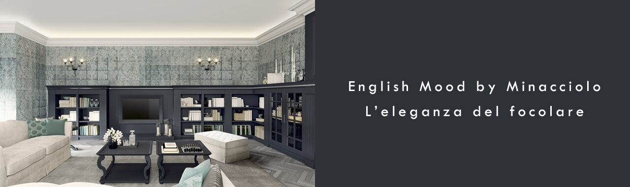 English mood by minacciolo l 39 eleganza del focolare cucine - Cucine minacciolo english mood ...