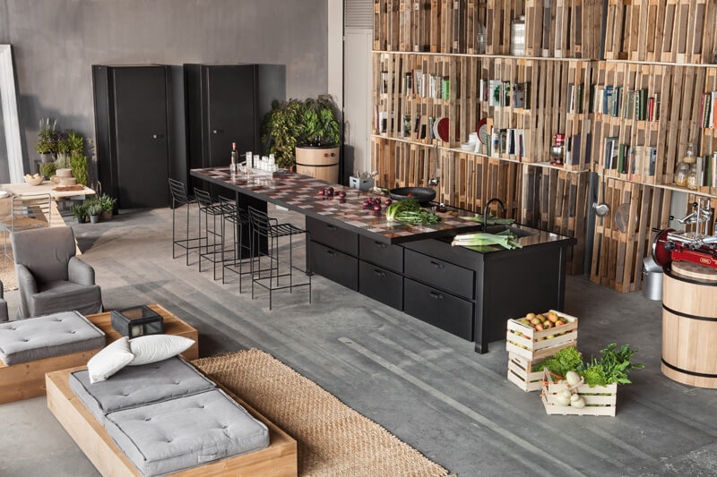 Il piano di lavoro minacciolo: la pietra lavica si fa arte cucine d
