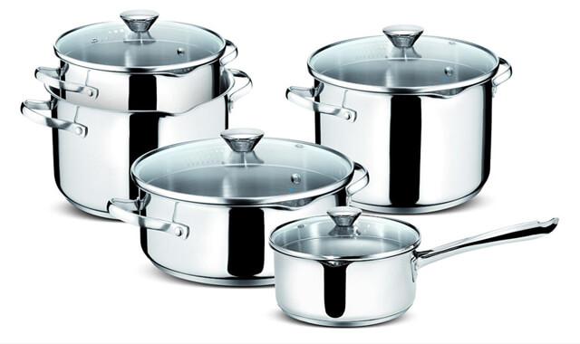 Cottura degli alimenti: l'acciaio in cucina