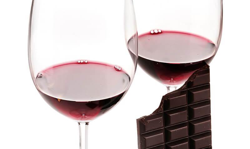 abbinare il vino al cioccolato