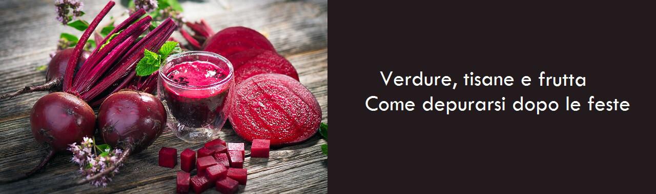 Verdure, tisane e frutta: come depurarsi dopo le feste