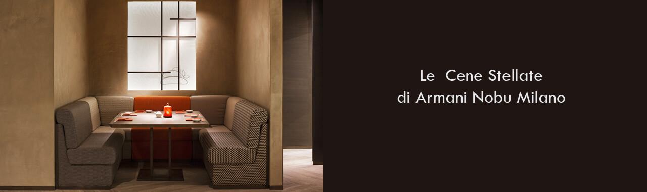 Le Cene Stellate di Armani Nobu Milano Cucine d\'Italia
