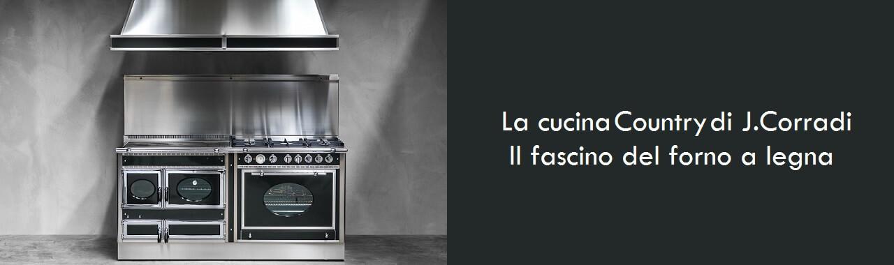 La cucina country di j corradi il fascino del forno a legna cucine d 39 italia - Cucine corradi rivenditori ...