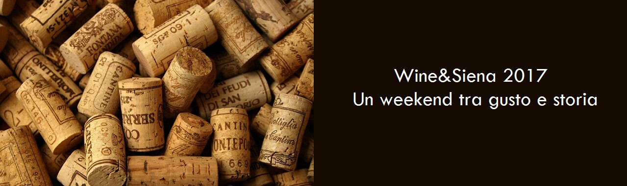 Wine&Siena 2017: un weekend tra gusto e storia