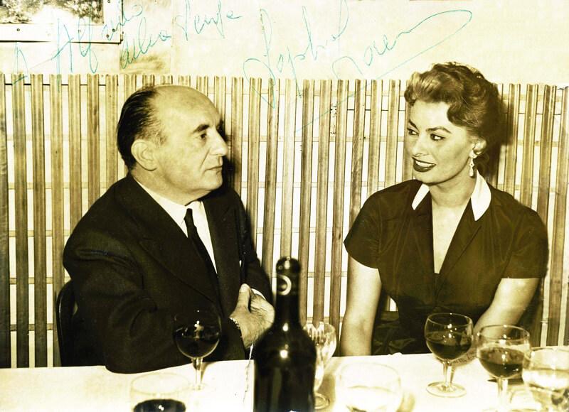 national fettuccine alfredo day Sophia Loren