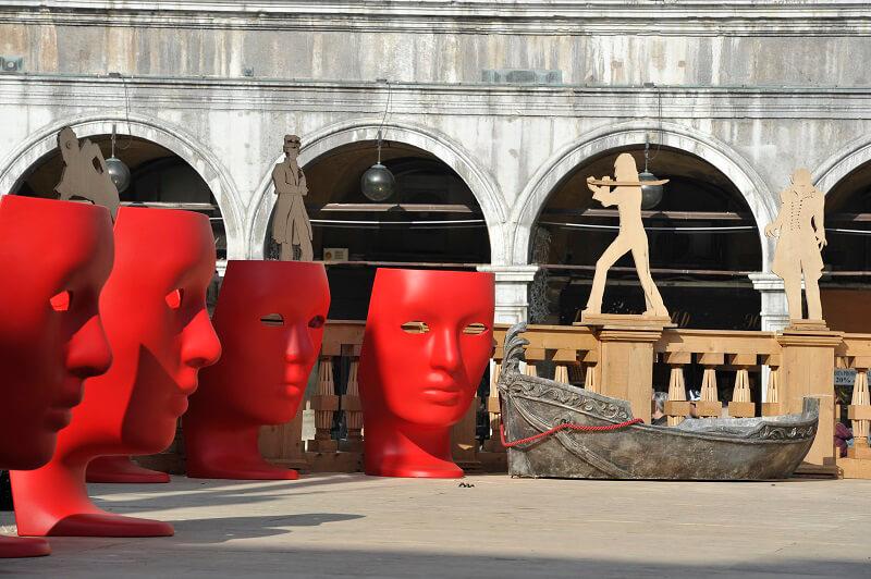 driade sedia nemo carnevale di venezia