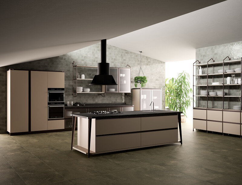 Scavolini e Diesel presentano Diesel Open Workshop Cucine d\'Italia