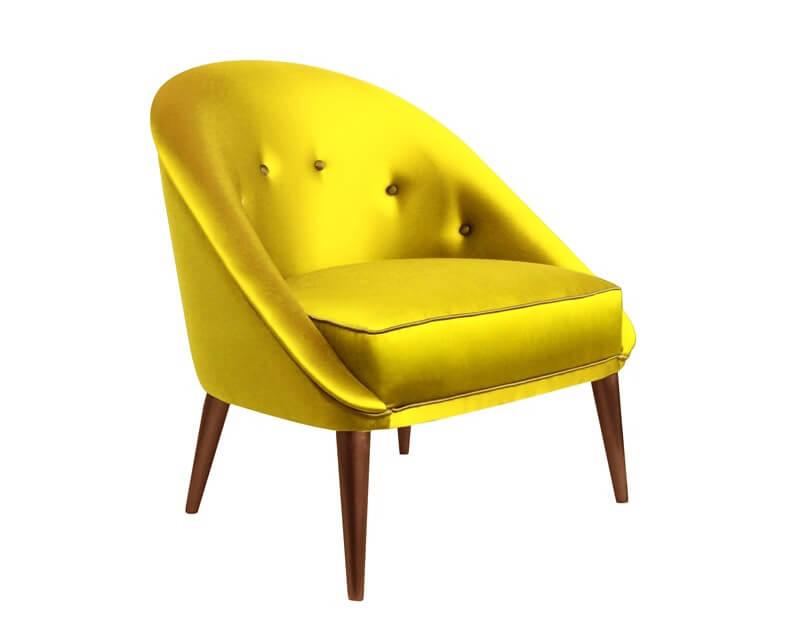 nessa chair koket chandra chair koket sfumature di giallo festa della donna