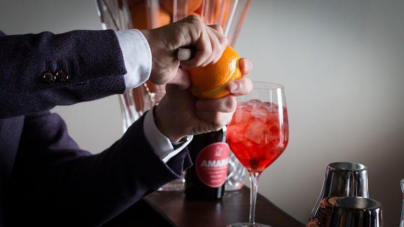 liquore amara arance rosse