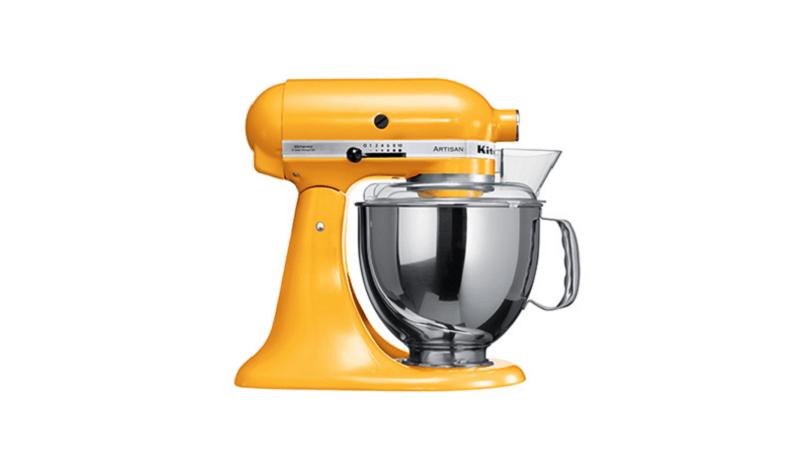 artisan kitchen aid sfumature di giallo festa della donna