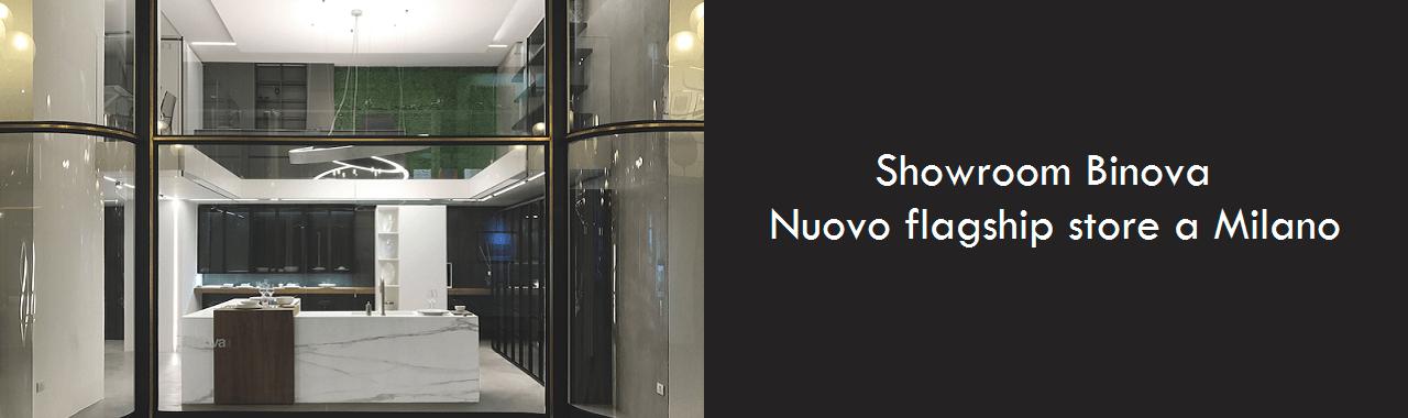 Un nuovo showroom Binova a Milano
