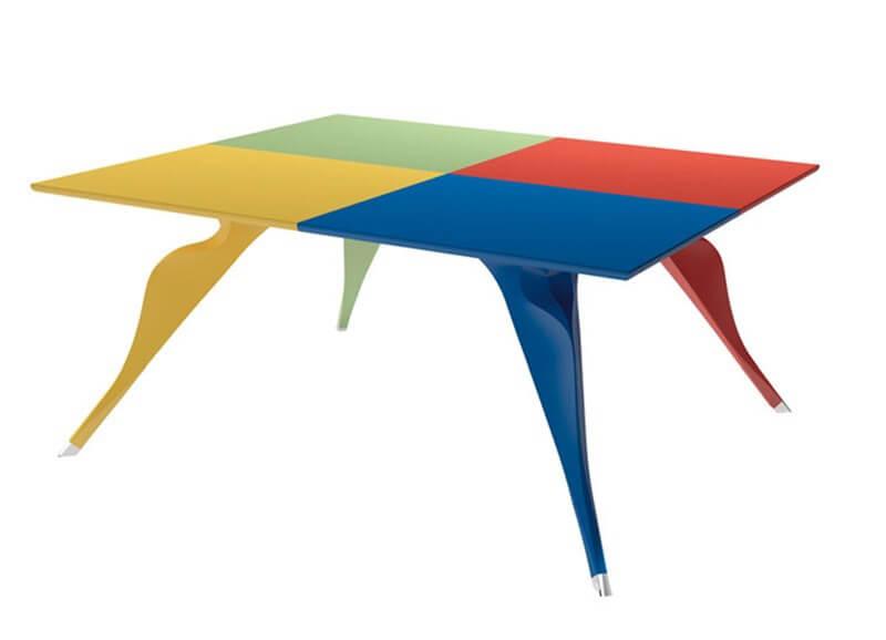 zanotta tavolo design pop