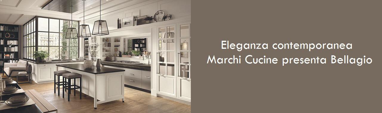 Eleganza contemporanea: Marchi Cucine presenta Bellagio