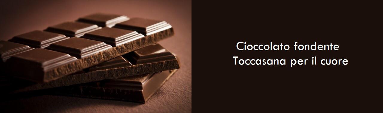 Cioccolato fondente: toccasana per il cuore