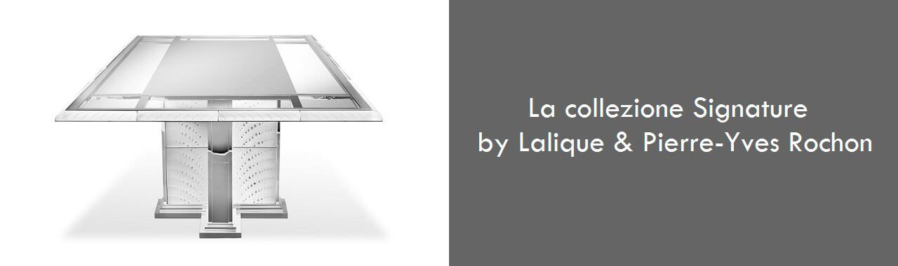 La collezione Signature by Lalique & Pierre-Yves Rochon