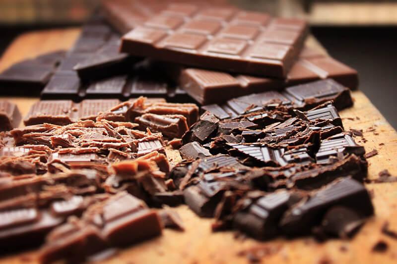 cioccolato fondente cuore