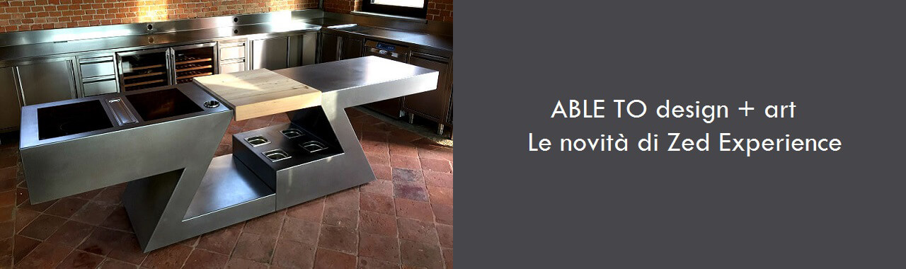 ABLE TO design + art: le novità di ZED Experience