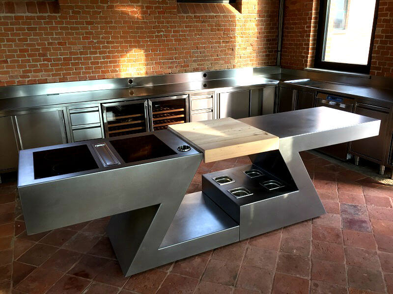 able to design cucina zed experience